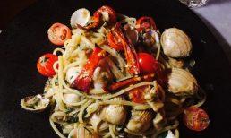Seafood Linguine La Cucina Farrier & Draper