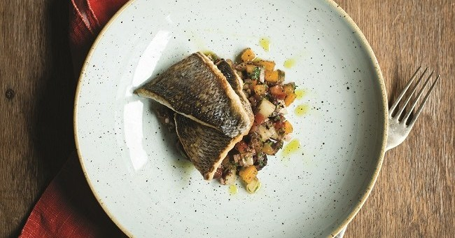 Sea bass recipe by JP McMahon