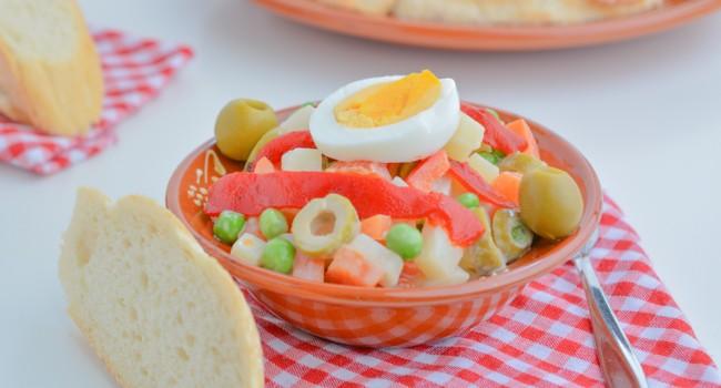Russian Salad tapa recipe by Tasty Mediterraneo