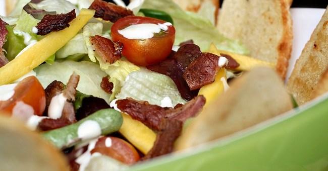 BLT Salad Recipe by Catherine Fulvio