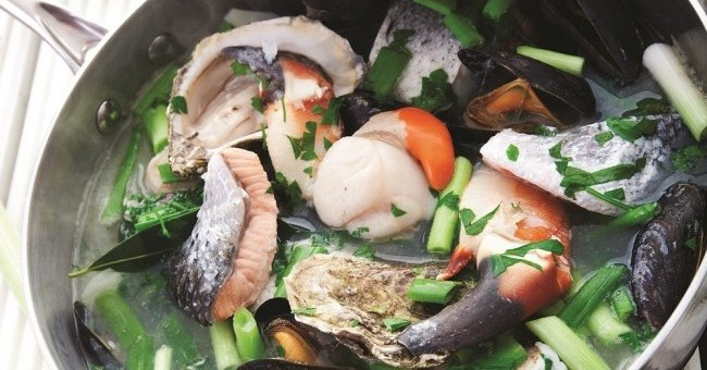 Seafood coddle
