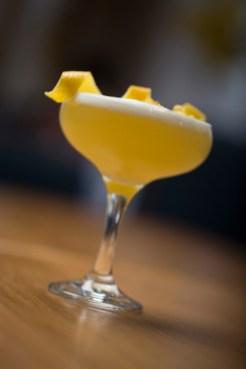 Lemon Drop Martini - Vodka Citron, Cointreau, Fresh Lemon Juice