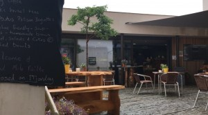 Courtyard pf Kalbos at Uillinn