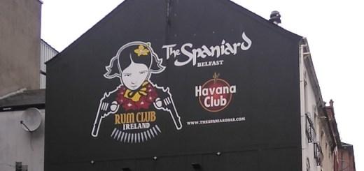 Hello, Sailor! The Spaniard Bar, Belfast - Bar Review