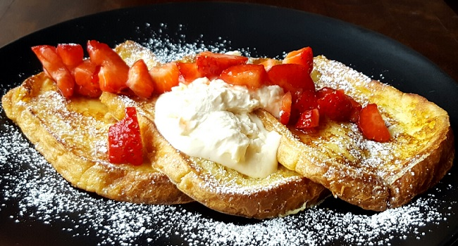 French Toast Two Ways Recipe by Donna Hennessy