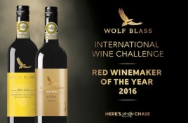 Wolf Blass Wins Red Winemaker of 2016 at the International Wine Challenge