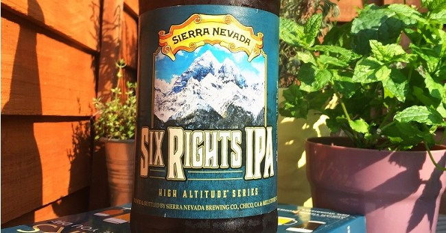 Sierra Nevada Six Rights IPA - Craft Beer Review