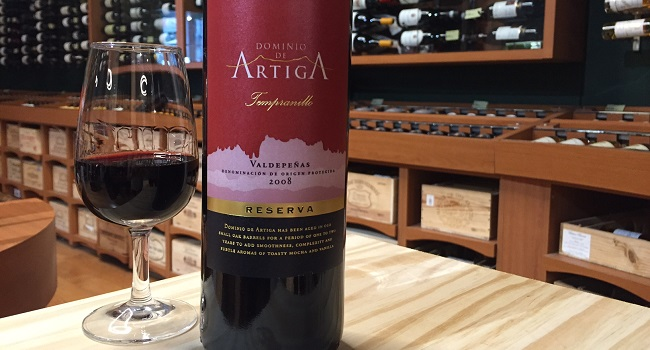 Wine Wednesday Pick from O'Briens: Dominio de Artiga Reserva 2008