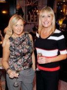 Jacq Nolan and Romy Carroll at BALFES Dublin attending the official Irish launch party for Thomson & Scott Skinny Prosecco