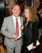 Michael and Kate Barry at BALFES Dublin attending the official Irish launch party for Thomson & Scott Skinny Prosecco