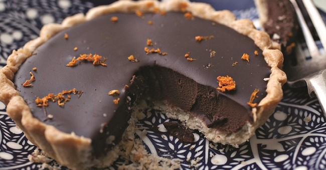 Chocolate and Orange Tartlets Recipe by Catherine Fulvio