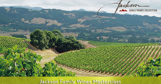 Wine Masterclass with Master Sommelier Dimitri Mesnard from Jackson Family Wines Next 14th of September