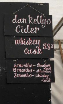 Whiskey, Casks, and Barrel-Aged Cider