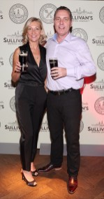 Siobhan Quane and Alan Quane at the Dublin launch of Sullivan's Brewing Company at Lemon & Duke,Royal Hibernan Way,Dublin Picture Bbrian Mcevoy No repro fee for one use