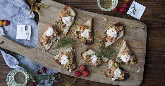 crab-toast