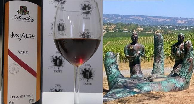 d'Arenberg Nostalgia Rare - Wine Review