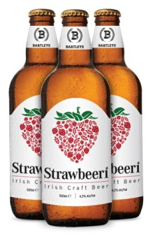 Bartleys Beers: Strawbeeri - Craft Beer Review