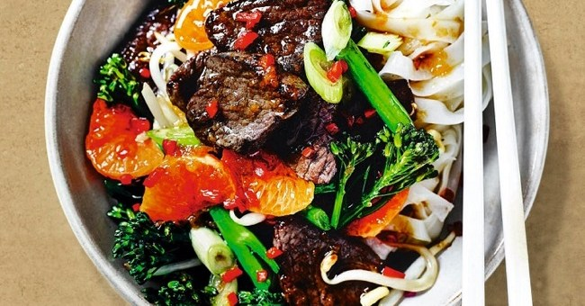 Festive Venison and Clementine Stir-Fry Recipe from M&S