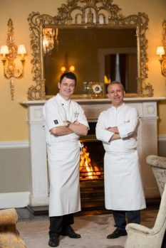 Ed Cooney, Mourad Khiat Pret a Portea at The Merrion