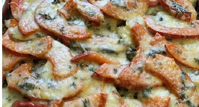 Potato, Kale and Pumpkin Gratin Recipe from Blazing Salads