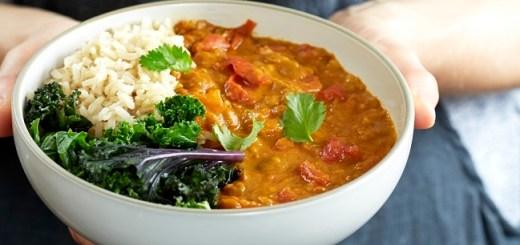 Three tin tomato turmeric and coconut dahl recipe