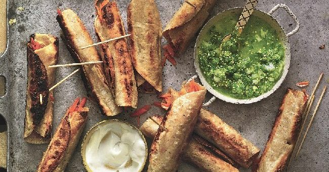 Crispy Carrot Tacos Recipe