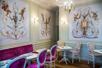 Luxury Afternoon Tea for 2 people at Ladurée Dublin with a glass of bubbles for only €45