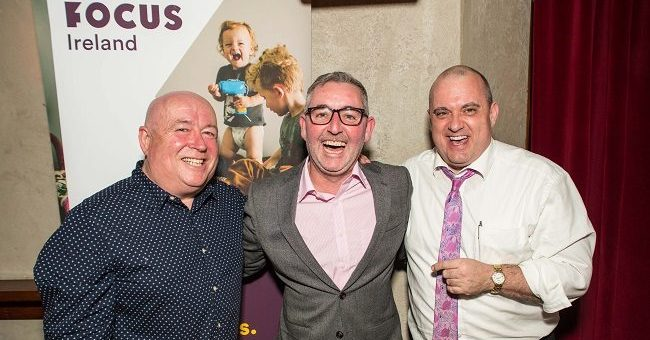 Focus Ireland Charity Event at Luna Restaurant