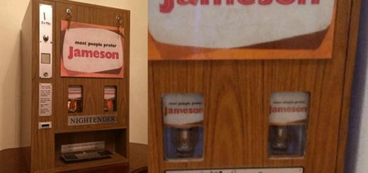 You Can Now Buy this Amazing Retro Irish Whiskey Vending Machine