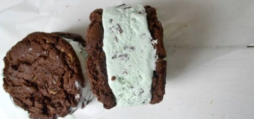 Double Chocolate Chunk Cookie Ice Cream Sandwich Recipe by Hazel Sheehan