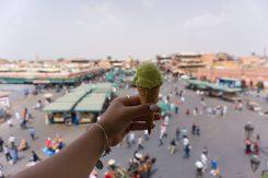 Marrakech TheTaste.ie cafe glacier pistacchio ice cream