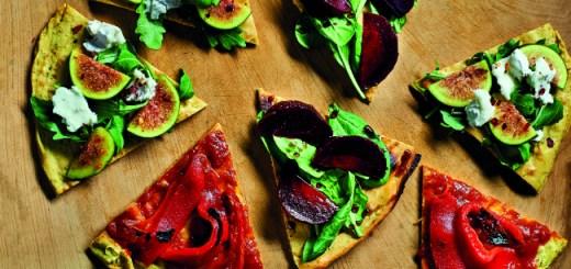 Gluten-Free Crispy Socca Pizza