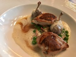 Restaurant Forty One at Residence - Quail Breast - TheTaste.ie