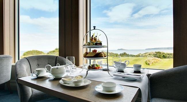 Portmarnock Hotel & Golf Links Afternoon Tea by the Sea