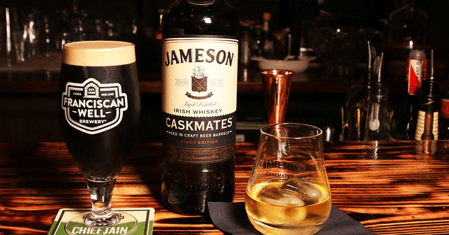 Craft Beer and Irish Whiskey, the Best of Friends