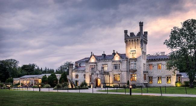 Lough Eske Castle Nothern Lights