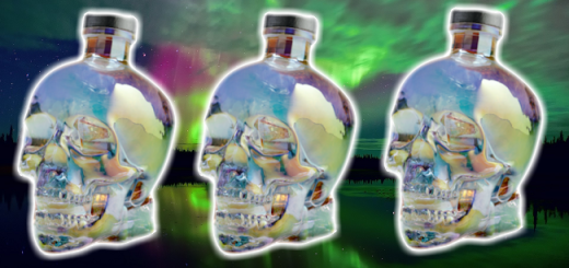 10,000 Diamonds Went Into the Making of the Scary yet Beautiful Crystal Head Aurora Vodka