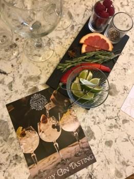 Galgorm Resort & Spa - Gin Tasting