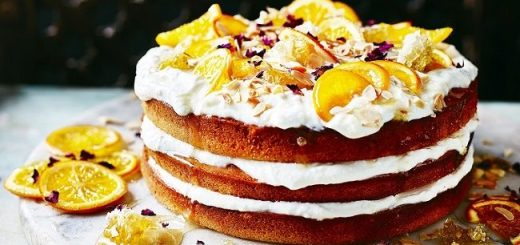 Orange_&_Honey_cake recipe