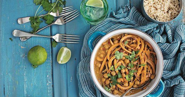 Roz Purcell peanut & squash curry
