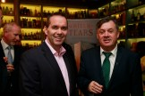 19/10/2017 - Walsh Whiskey Launch at L. Mulligan's Whiskey Shop at the Powerscourt Centre. Pictured were John Kelly & Brian Egan. Photograph Nick Bradshaw