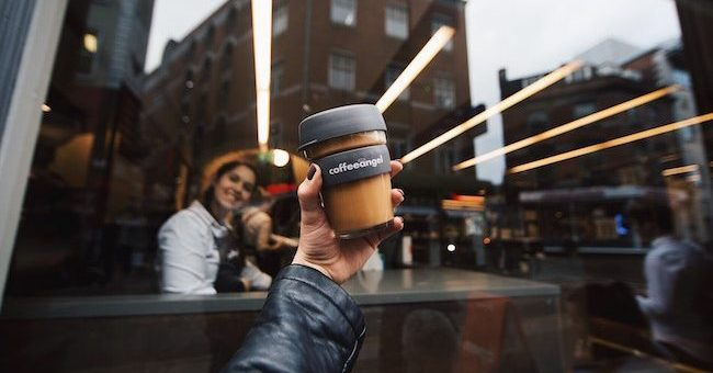Coffeeangel KeepCup takeaway cup waste