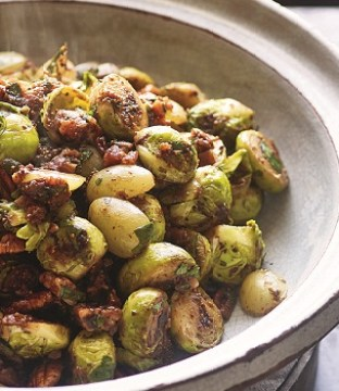 Sticky Fried Lebanese Brussels Sprouts Recipe by John Whaite