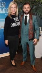 Ciara Doherty and Deric Hartigan pictured at the Emirates Dubai Brunch at the Dean Hotel,Dublin. Pic Brian McEvoy No Repro fee