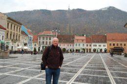 Me in Brasov's main square