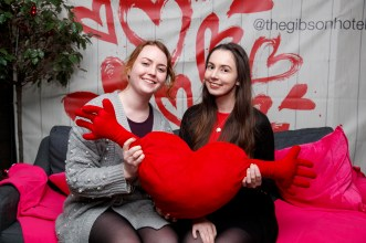 Niamh Campbell and Sarah Glascott pictured at the launch of First Dates Restaurant at the gibson hotel. The First Dates Restaurant is open from Thursday – Saturday nights (inclusive subject to availability). Visit www.thegibsonhotel.ie for more information on how to book and available dates. Picture Andres Poveda