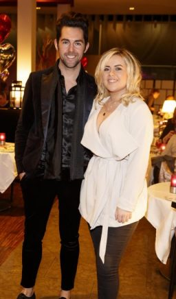 Edward Smith and Ali Ryan pictured at the launch of First Dates Restaurant at the gibson hotel. The First Dates Restaurant is open from Thursday – Saturday nights (inclusive subject to availability). Visit www.thegibsonhotel.ie for more information on how to book and available dates. Picture Andres Poveda