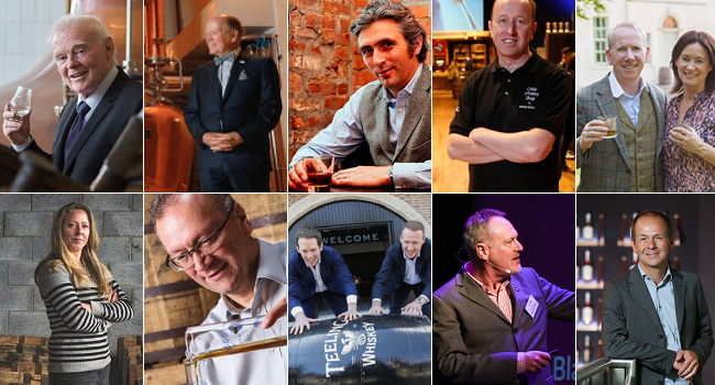 The 20 Most Influential People in Irish Whiskey Today
