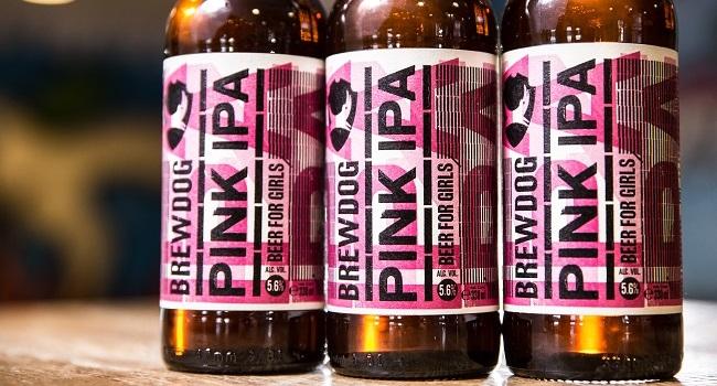 "BrewDog Sparks Conversation About Gender Gap with New ""Beer for Girls"""