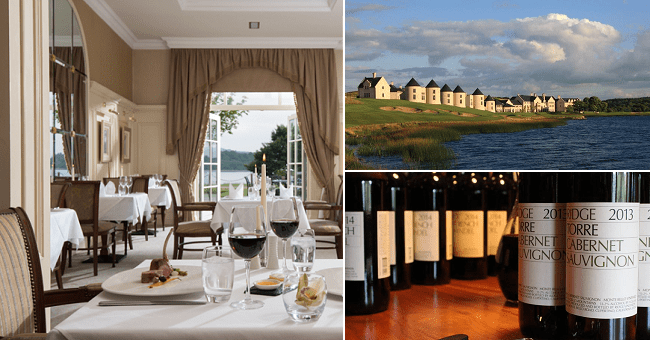 California's Iconic Ridge Vineyard is Coming to Lough Erne Resort for a Very Special Wine Dinner